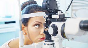 Диагностика глаз у врача-окулиста
