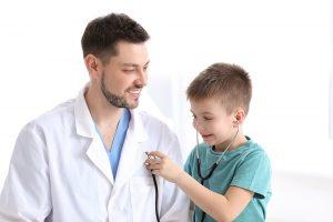 Прием детского врача-хирурга в клинике в Подольске